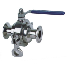 Sanitary Grade Clamped Stainless Steel Ball Valves