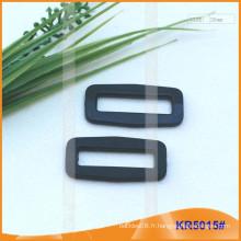 Boucles en plastique de taille intérieure 26mm, régulateur en plastique KR5015