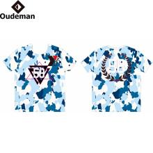 Impression sublimée logo Personnalisé T-shirt Impression prix usine sec fit t-shirt