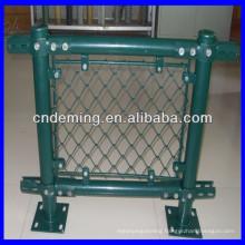 galvanized chain link diamond wire mesh fencing