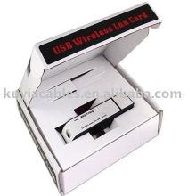 Adaptateur LAN sans fil USB de 54Mbps WIFI 802.11b / g WLAN Carte WI-FI