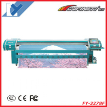Digital Printing Machine Fy-3278f for Banner, Vinyl, Mesh, One-Way-Vision, All Outdoor Advertising Materials