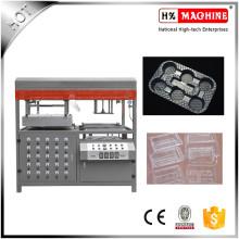 Vacío manual semiautomático que forma el precio de la máquina para la bandeja plástica