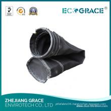 Cement Plant Flue Gas Filtration Fiberglass Air Filter