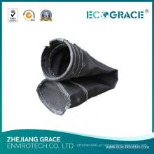 Filtro de ar da fibra de vidro da filtragem do gás de conduto da planta do cimento