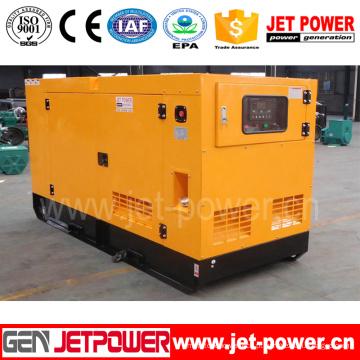 Preço diesel do gerador do gerador 20kVA do dossel 16kw silencioso