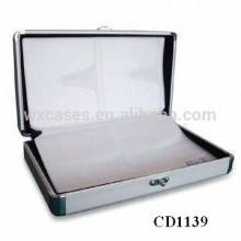 alta qualidade CD 64 discos CD titular de alumínio grosso