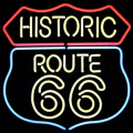 ZNAK NEONOWY ROUTE 66 LED
