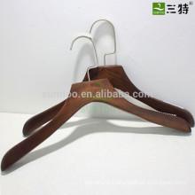 Retro Color Lotus Wooden Hanger With Non-slip