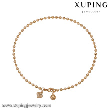 74771 Xuping imitation jewelry work from home popular gold beads bracelet China wholesale