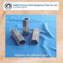 surface glossy seamless hexagonal steel tube and hexagon steel pipe