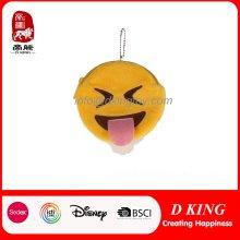 Bolso de encargo de la moneda de la felpa de Emoji de la diversión del nuevo diseño