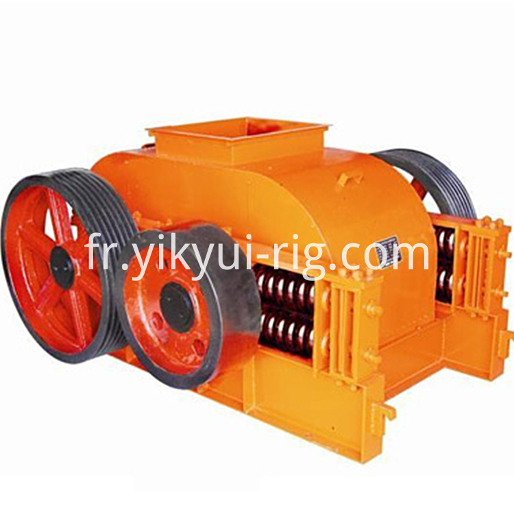 Stone Rock Crusher Machine Double Roller Crusher For Sale