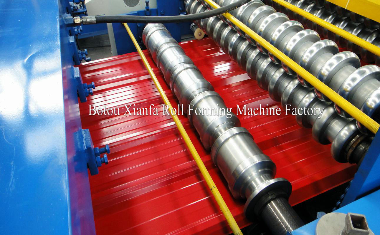 roll forming machine for IBR and S sheet