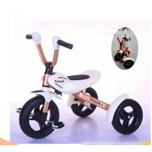 China fábrica Novo modelo de dobramento triciclo Kids para as crianças Play