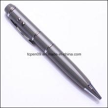 4 в 1 Многофункциональный лазерный светодиодный USB металла Ручка шариковая ТК-Н-3203