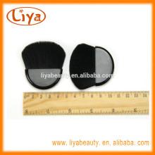 Hot sale mini makeup compact brush for cosmetics logo on handle