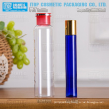 70ml and 300ml slim and tall good looking round attractive and unique cosmetics empty plastic pet bottles