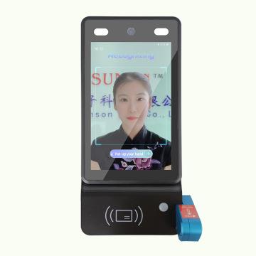 Tampon de scanner de température corporelle à imagerie thermique