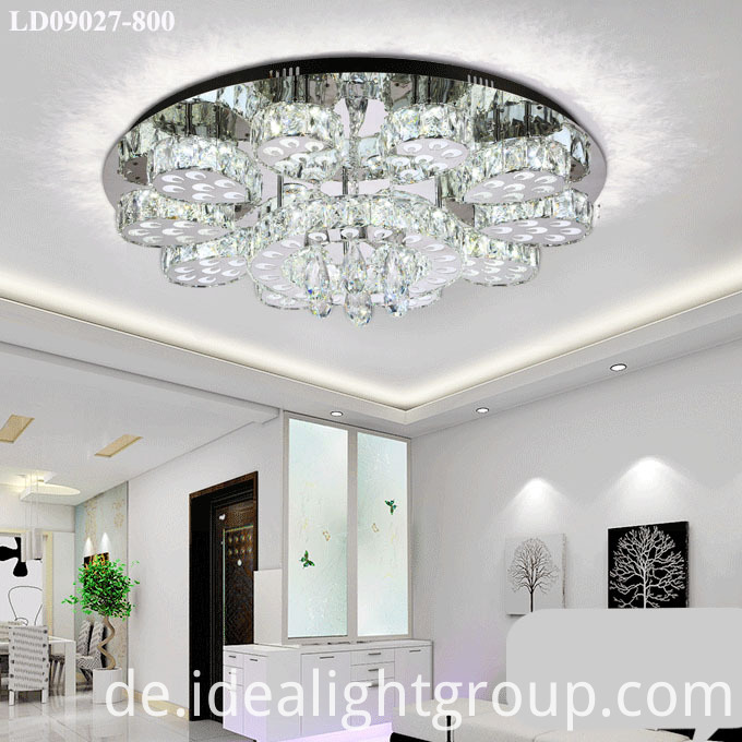 chandeliers chrome crystal lamp