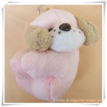 Rosa Hund Plüschtier für Promotion