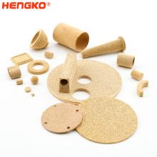 HENGKO Micron porous stainless steel 316L sintered bronze filter stainless steel sintered filter cartridge
