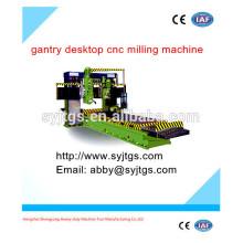 De alta velocidad utilizado pórtico de escritorio mini cnc fresadora para la venta con buena calidad