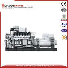 685kw 0.7MW Heavy Fuel Oil (HFO) Electric Genset Man