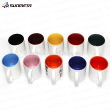 sublimation mug factory supply color inside mug