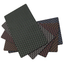 Hoja de la tela de la fibra del carbón 3k