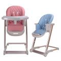 Novo design cadeira alta cadeira dobrável para bebê
