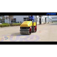 Rolo de estrada de asfalto hidráulico automático de 1 tonelada