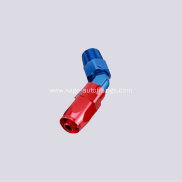 Gas hose end & fittings