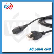 UL CUL 3 pin canada câbles d'alimentation TV standard