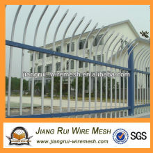 decorative pvc coated zinc steel guardrail fence(China manufacturer)
