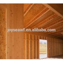 Casa de madeira 1220x2440 MR WBP eco-friendly alta resistência à flexão OSB1 / OSB2 / OSB3