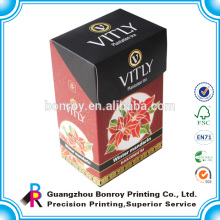 Bolsas de cartón de papel caja de embalaje de té verde chino al por mayor