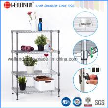 4 níveis de aço de armazenamento Home Storage Shelivng (CJ-B1118)