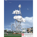 Garden Famous Stainless Steel Sculpture