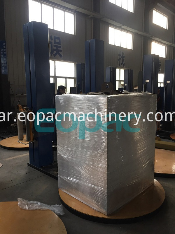 Stretch Wrapping Machine for Pallet