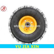 хорошее качество 14 дюймов тележка колеса твердые резиновые шины