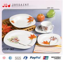 Venda quente conjunto de jantar quadrado (jsd116-s028)