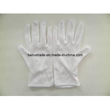 Белые Хлопковые Перчатки Полиэтиленовые Перчатки Пластиковые Перчатки Этикет Скольжению Белые Перчатки Работы
