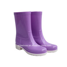 Новые комфортабельные высоких каблуках женщин Shoess. Леди Rainboots