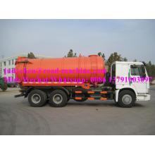 Sinotruk HOWO Vacuum Truck 10CBM Euro III
