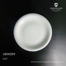 Restaurant slate food plates