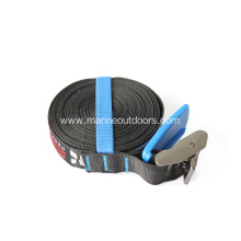 4.6m PP Car Tie Down Tie Down Buckle Belts Retractable Tie-down Straps