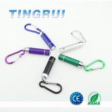 Hot sell colorful mini Led flashlight keychain