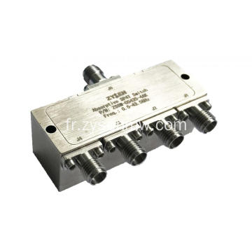 Commutateur de diode à broche 0,5 ~ 43,5 GHz SP4T