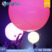 LED iluminado Touchable Publicidad Globos apretados Inflables Zygote Interactive Balls